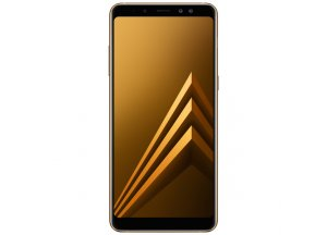 Смартфон Samsung Galaxy A8+ Gold (2018)
