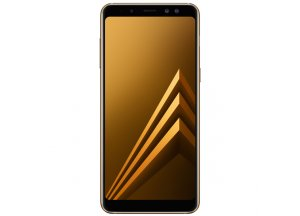 Смартфон Samsung Galaxy A8 Gold (2018)